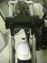 ハーレーダビッドソンのフロントフォークバッグ1
