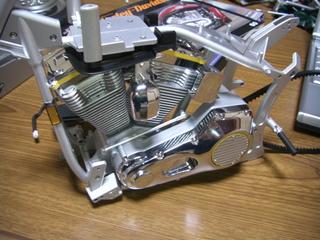 ハーレーダビッドソンのエンジンとプライマリーケース