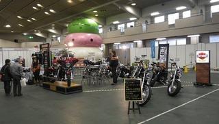 ハーレー2012年モデル展示会