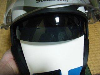 ハーレー用シューベルトヘルメットインナーバイザータイプ2