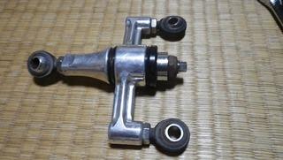 ハーレーのエンジンスタビライザーリンケージカラー