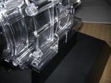 ハーレーダビッドソンのエンジンディスプレイ固定位置2