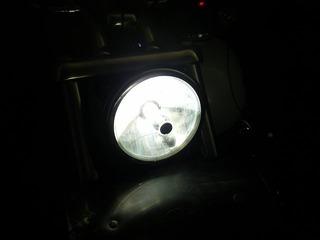 ハーレーのHID点灯