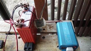 ハーレーのトリクル充電コントローラー