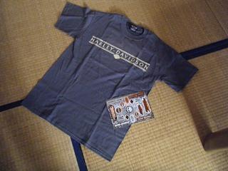 ハーレーのTシャツ