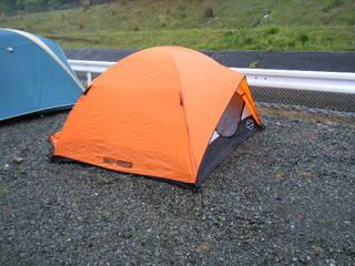 ハーレーのテント
