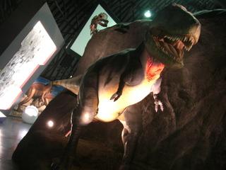 恐竜パークの模型
