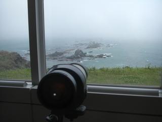 ハーレーダビッドソンのツーリングでよった襟裳岬の展望台