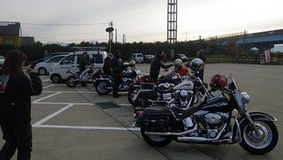 ハーレーのモーターサイクルクラブ