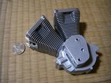 ハーレーダビッドソンのVツインエンジン1