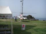 ハーレーダビッドソンとヘリコプター