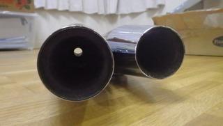 ハーレーの北米マフラー16mmパンチアウト