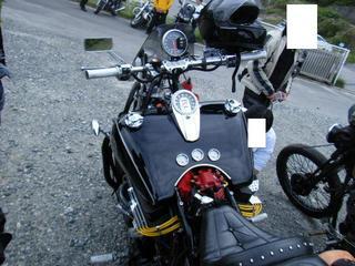 ボスホスのバイク タンク