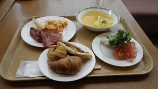 ハーレーのセミナー朝食