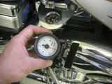 ハーレーダビッドソンの油圧計