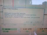 サンダーマックスのO2センサーエラー