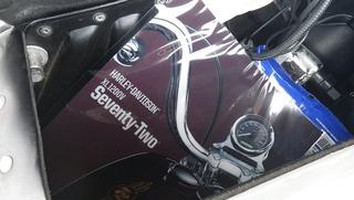 ハーレー2012年モデル スポーツスター72バインダー