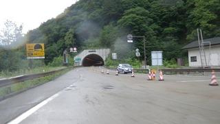 ハーレーと安房トンネル