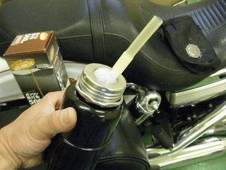 ハーレーのガソリン携行缶注ぎ口