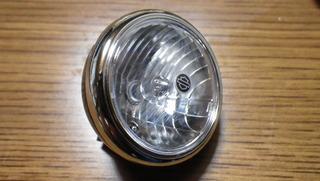 ハーレーダビッドソンのヘッドライト
