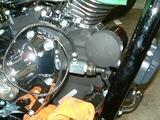 ハーレーダビッドソンの油圧計ホース