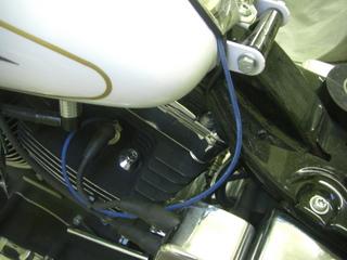 ハーレーダビッドソンのシリンダーヘッド温度センサーハーネス