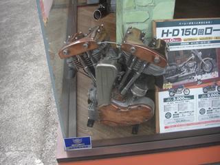ハーレーダビッドソンのショベルヘッドエンジン