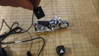 ハーレー用ドライブレコーダー ニリドラ2カメ