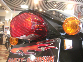 XR1200のテールライト