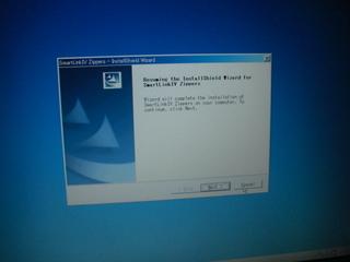 サンダーマックスのスマートリンクインストール画面