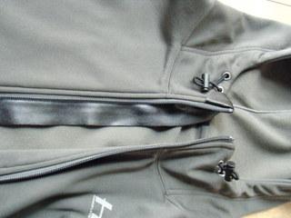 ハーレー用ジャケットジッパー裏当て