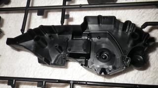 ハーレーダビッドソンのエンジン塗装