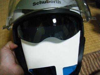 ハーレー用シューベルトヘルメットバイザー