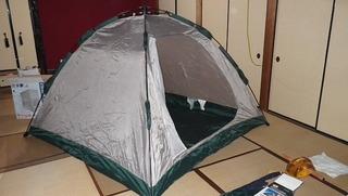 ハーレー用キャンプテント4人用