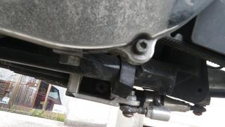ハーレーのエンジンオイルドレンボルト