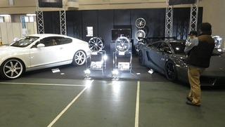 輸入車展示会