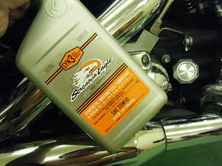 ハーレーのエンジンオイル