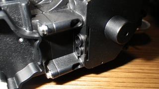 ハーレーソフテイルの油圧ライン