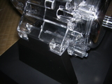 ハーレーダビッドソンのエンジンディスプレイ固定位置1