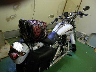 ハーレーのツーリング装備