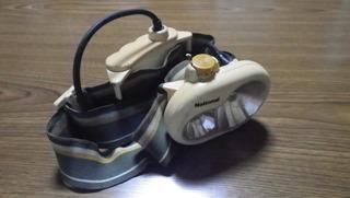 登山用ヘッドライトLED改造
