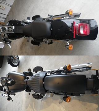ハーレー2012年モデル ソフテイルスリムFLSとファットボーイ