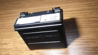 ハーレーダビッドソンのバッテリー注意書き