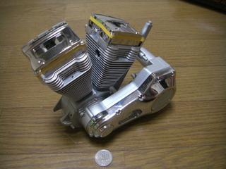 ハーレーダビッドソンのエンジンとプライマリー