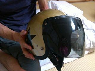トイズマッコイのBUCOヘルメット