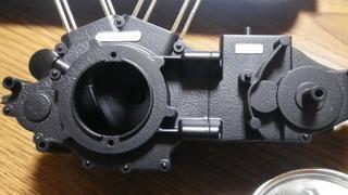 ハーレーダビッドソンのクランクケース、ミッションケースボルトヘッド