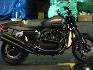 ハーレー2010年モデルXR1200X試乗