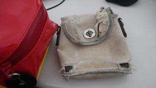 ハーレーのバッグ交代