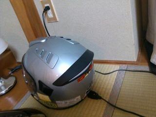 シューベルトのヘルメット