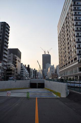 環状二号線建設現場にて(その3)